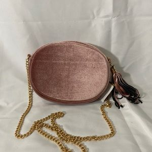 NWT 3 AM Forever Luxe Velour Crossbody